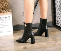 GUCCI ???? edition leather boots