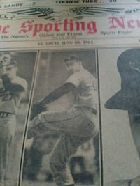 1964 The Sporting News Falls Church, 22042