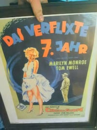 7 year itch movie poster in frame Lodi, 95240