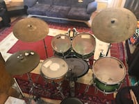 Pearl Session Custom davul seti ( full maple ) Bayraklı, 35540