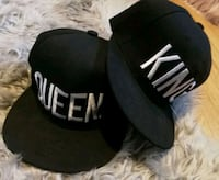Matching Hats King & Queen -new Red Deer
