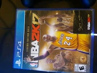 NBA 2K17 PS4 game case Scarborough, M1T