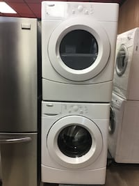 """27"""" WHIRLPOOL FRONT LOAD WASHER&DRYER SET TORONTO"""