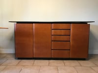 Buffet with black colour top Anmore, V3H