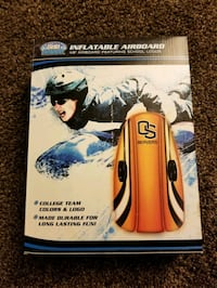 """48"""" inflatable airboard featuring OS Beavers logo"""