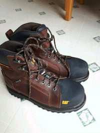 CAT steel toed waterproof boots Edmonton, T5B 1S3