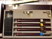 Staedler graphic pen set with full bottle of cleaner.  Richmond Hill, L4C 4S8