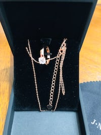 New  Women Rose Gold Plated Necklaces (pick up only) Alexandria, 22310