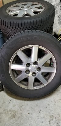 Tires and mags to sell 16 inch  Laval, H7V 4B4