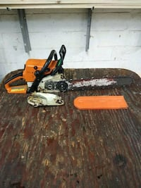 Stihl Ms250C wood boss refurbished.  McLean