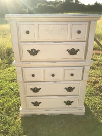 Large Floral Chest of Drawer (Junk in the Trunk) Hull, 30646