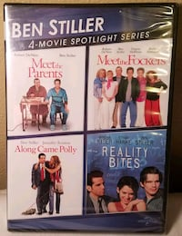 BRAND NEW-Ben Stiller 4-Movie Spotlight Series DVD