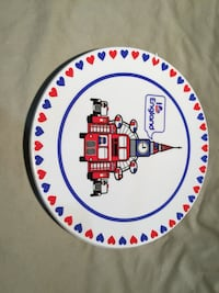 Max Reynolds I Love England Plate Palm Springs, 92264