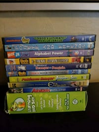 12 kids dvds Tucson, 85711