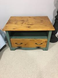 brown wooden 2-drawer nightstand Cambridge, N1T 1L7
