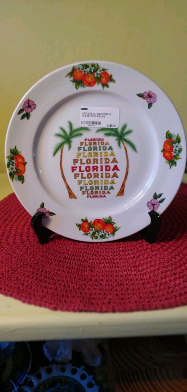 Used 9 Quot Vintage Florida Plate For Sale In Plant City Letgo