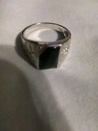 Silver Ring Real Onyx  West Fargo, 58078