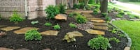 Spring mulching and landscaping  Woodstock