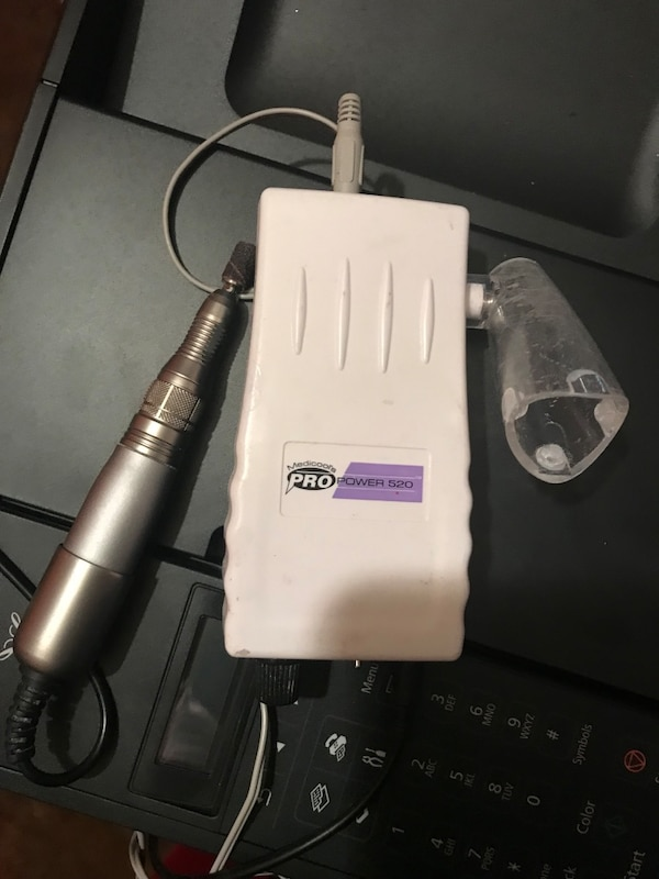 Used Medicool 520 E file electric nail drill powerful for sale in ...