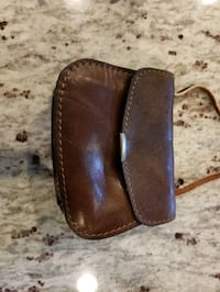 Small leather purse Sterling