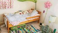 Toddler/child Ikea bed with mattress  Mountain View, 94043