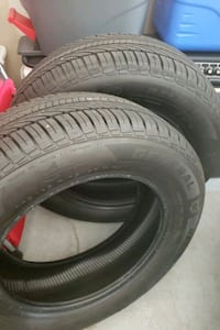 2 NEW GENERAL TIRES 195/65 R15