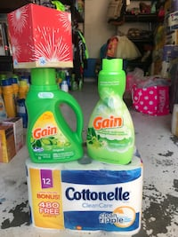 Gain and Tide detergent bottles Palmdale, 93550