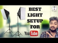 Best Light Setup For Youtube Videos!! BRAND NEW / free shipping avail Toronto