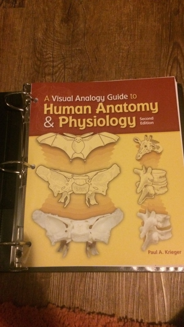 Used Human Anatomy And Physiology Book For Sale In Thibodaux Letgo