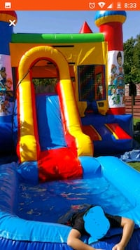 jump house w/water slide