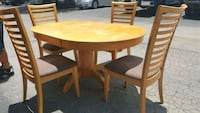 Wooden Dining Table set, Table with 4 Chairs.  San Antonio, 78240