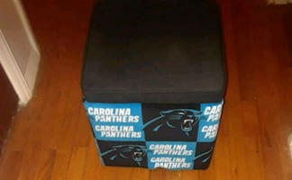 Panther Foot Stool with lid