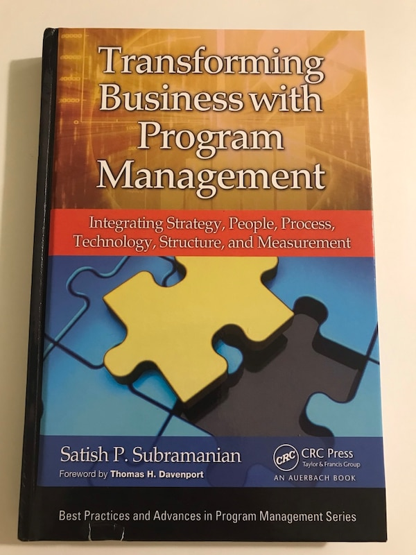 Transforming Business with Program Management by Satish P  Subramanian Book
