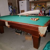 Green and brown  billiards table Lemoore, 93245