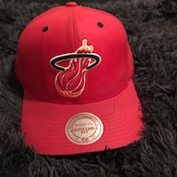 Miami Heat Red Velcro StrapBack North Charleston, 29456