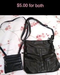 2x like new purses black punk goth  Toronto, M9R 1T8