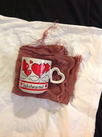 white and red heart balloon printed ceramic mug West Allis, 53219