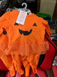 Pumpkin infant costume Cary, 27518