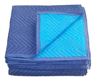 72-Inch x 80-Inch Padded Moving Blanket in Blue Mississauga, L5W