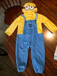 Like New 3-4T minion costume Martinsburg, 25404