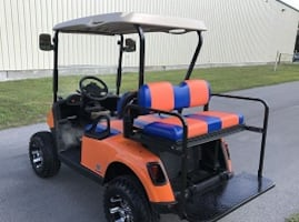 golf cart E Z GO rxv  Freedom* 2+2 electric [new tires]