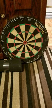 black, green, and red dartboard Kitchener, N2C 2K6