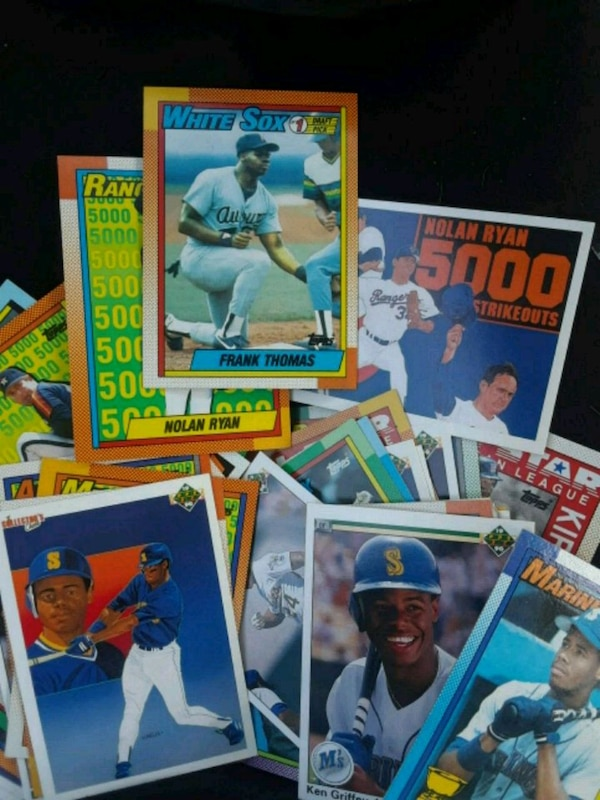 Used Assorted Baseball Trading Card Lot For Sale In Manteca