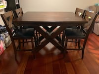 Butterfly Countertop Dining Room Table Set Columbia, 21045