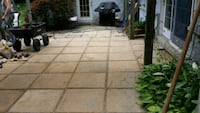 Patio installation and resetting Redford Charter Township