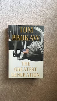 Discover The greatest generation by tom brokaw book. great gift  for  the baby boomer generation  Woodbridge, 22193