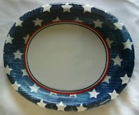 OVAL SHAPE DISPOSABLE SERVING PLATES FOR 8 GUESTS Owings Mills