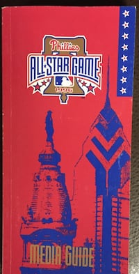 Phillies 1996 Media Guide Lebanon