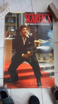 Scarface Poster Calgary, T3G 2T4