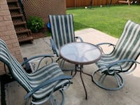 3 swivel and rock Patio chairs  Hickory Hills, 60457